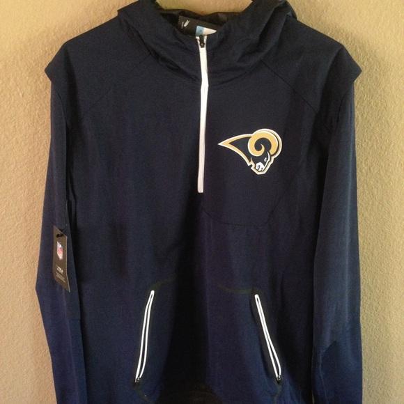Los Angeles Rams Men's medium Nike hoodie jacket